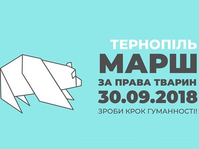 Тернопіль вийде на Всеукраїнський марш за...